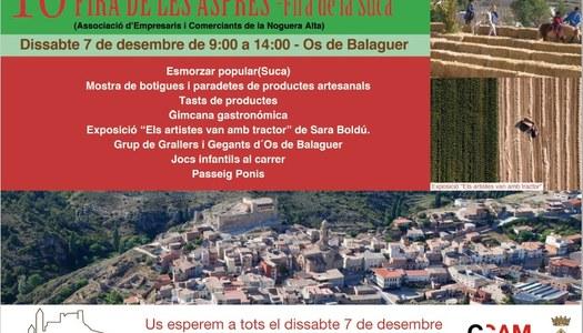 10a Fira de les Aspres - Fira de la Suca - Dissabte 7 de desembre