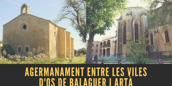 Agermanament entre les viles d'Os de Balaguer i Artà