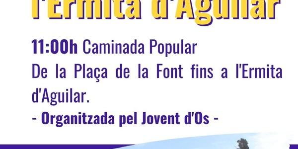 Aplec Ermita de la Mare de Déu d'Aguilar - 1 de magi de 2021