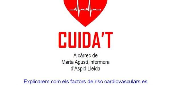 Cuida't xerrada informativa: 28 novembre 18h sala actes ajuntament d'Os de Balaguer