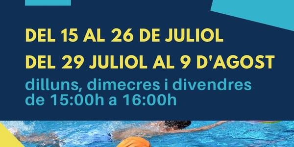 Cursos natació piscines municipals d'Os de Balaguer - Estiu 2019