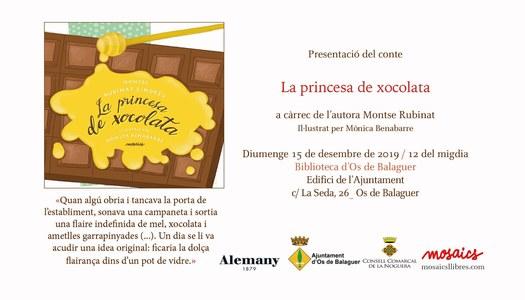Diumenge dia 15 de desembre 12h Biblioteca (Ajuntament d'Os)