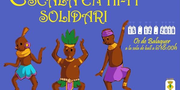 Diumenge dia 15 de desembre 18h Sala Ball d'Os de Balaguer: Escala en hi-fi solidari