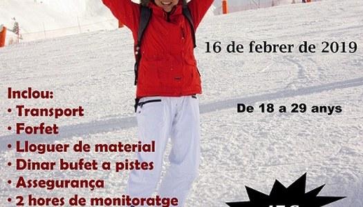 Esquiada Jove a Port Ainé - 16 febrer de 2019
