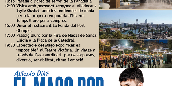 Excursió a Barcelona - 12 desembre
