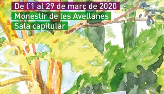 Exposició d'aquarel·les de l'1 al 29 de març de 2020 - Monestir de les Avellanes