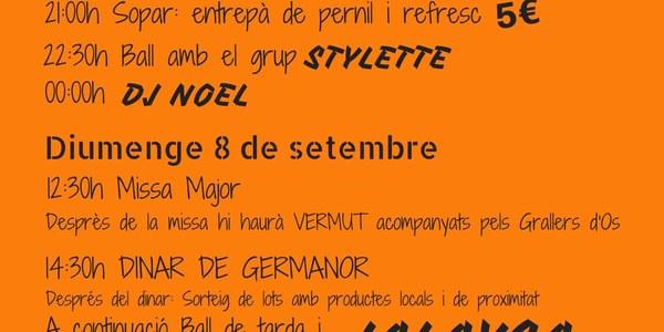 Festa Major Alberola - 7 i 8 setembre 2019