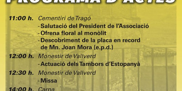 Festa Major de Tragó de Noguera 2018