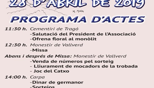 Festa Major de Tragó de Noguera - 28 d'abril de 2019