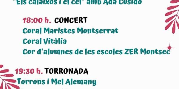III Concert de Nadal de Les Aspres del Montsec - diumenge 16 desembre - Monestir de les Avellanes