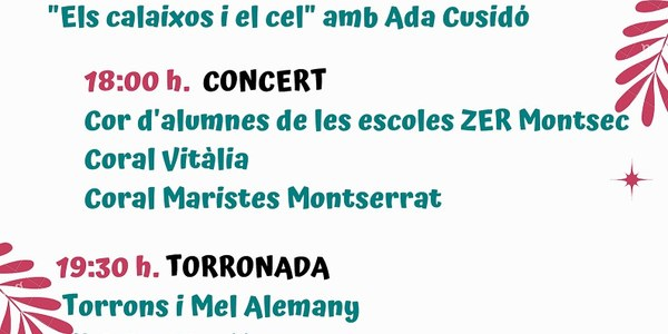 III Concert de Nadal de Les Aspres del Montsec