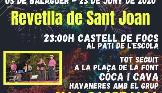 Revetlla Sant joan - Os de Balaguer 2020