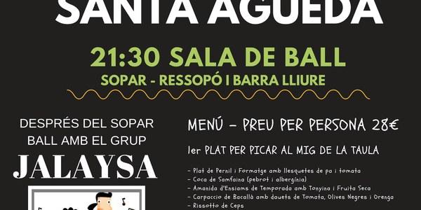 Santa Agueda - 9 de febrer de 2019