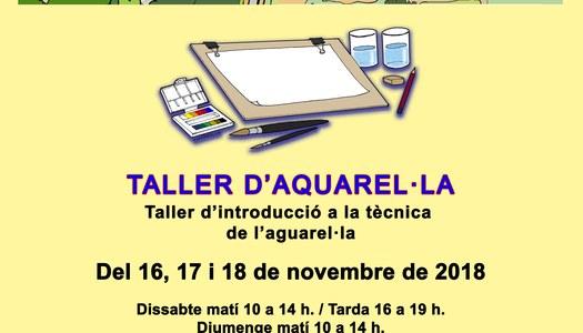 Taller Aquarel·la al Monestir de les Avellanes - 16,17 i 18 de Novembre