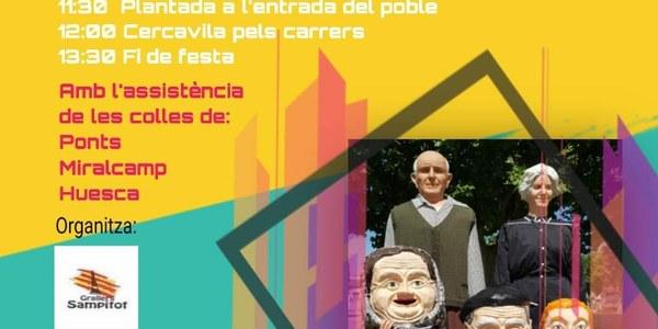 V Trobada Gegantera i Grallera - 1 setembre 2019 - Os de Balaguer