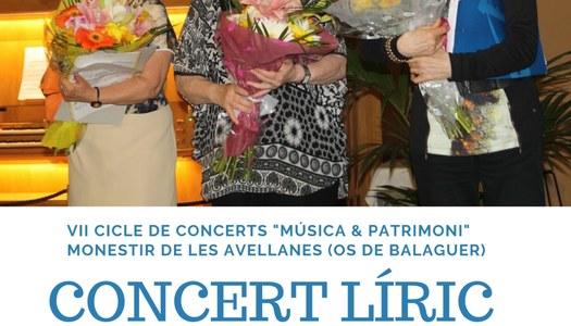 VII Cicle concerts Monestir de les Avellanes - 8 juny 19h Concert Líric