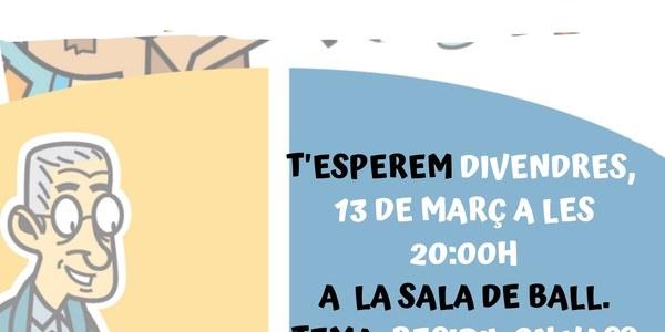 Xerrada Informativa - Parlem de Reciclatge - 13 de març 20h Sala de Ball