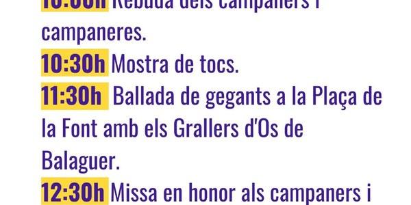 XXXIII Trobada Campaners - 25 d'abril - Os de Balaguer