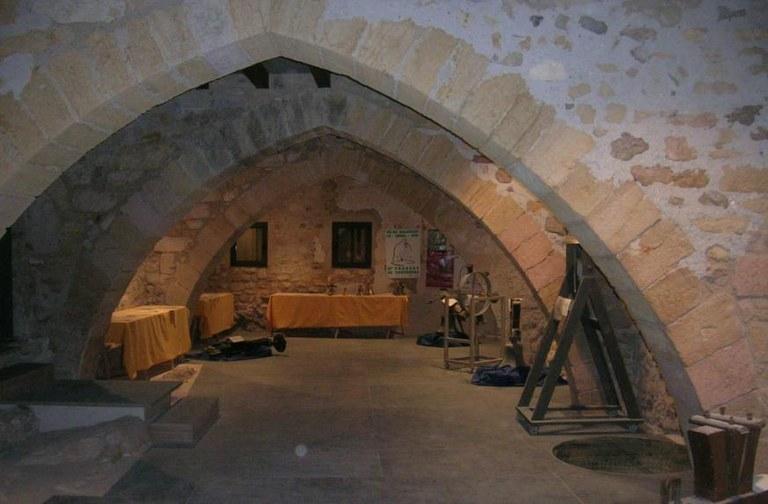 Sala Gotica del Museu de Campanes de Catalunya.jpg